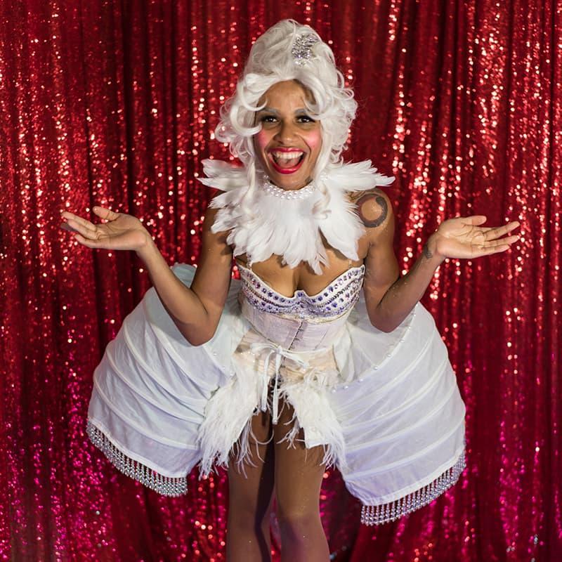 Madam Mystic - US Virgin Islands Burlesque Dancer