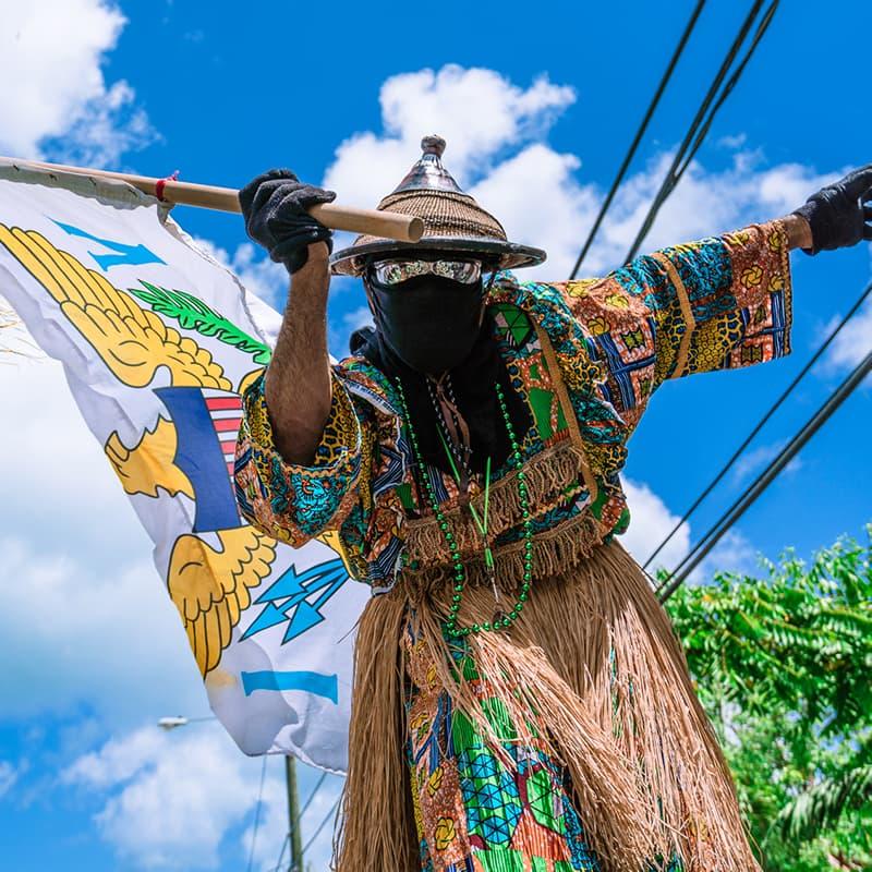 US Virgin Islands Moko Jumbie